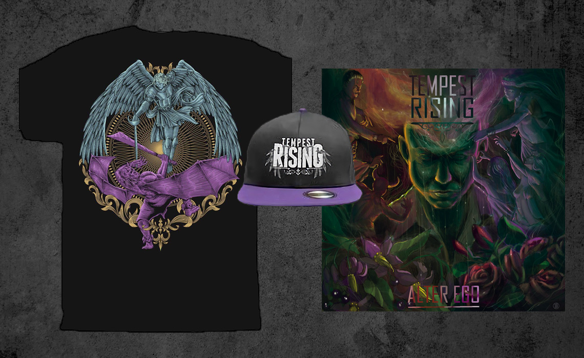 Tempest Rising: Alter Ego Merch